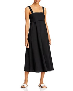 Theory - Tie Back Midi Dress