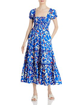 Tory Burch - Tiered Printed Dress