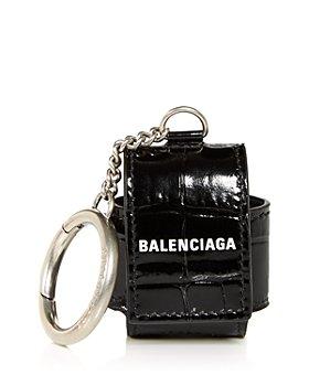 Balenciaga - Cash Croc Embossed Patent Leather AirPod Case