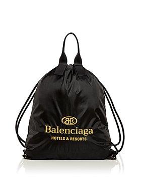 Balenciaga - Hotel Logo Drawstring Backpack