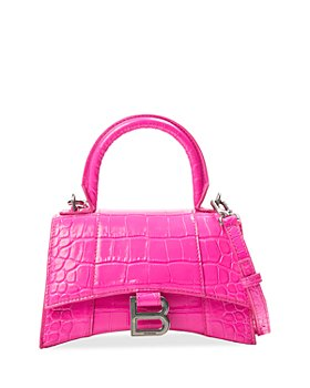 Balenciaga - Croc-Embossed Mini Leather Shoulder Bag