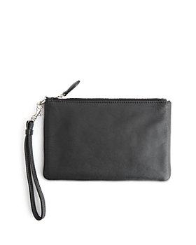 ROYCE New York - Leather Wristlet