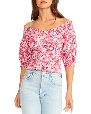 Paradise Smocked Top