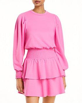 AQUA - Smocked Dress - 100% Exclusive