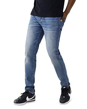 True Religion - Rocco No Flap Skinny Jeans in Deep Sleep