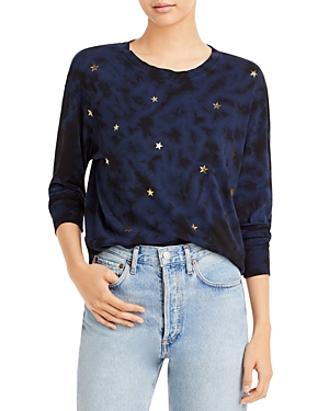 Gold Scattered Stars Tee