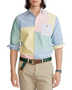 Polo Ralph Lauren - Cotton Color Blocked Oxford Shirt