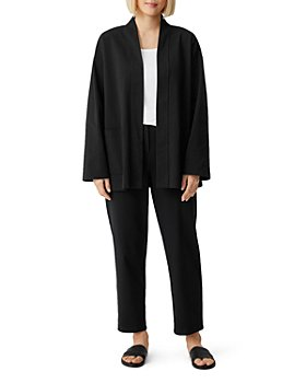 Eileen Fisher - High Collar Jacket