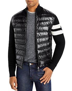 Moncler - Regular Fit Quilted Vest Sweater