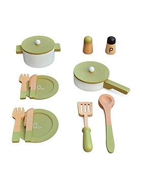 Teamson - Little Chef Frankfurt Wooden Cookware - Ages 3+