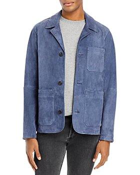 Michael Kors - Suede Regular Fit Chore Jacket