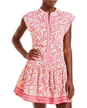 Poupette St. Barth - Amora Drop Waist Mini Dress