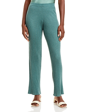 Sablyn Jordan Ribbed Cashmere Pants