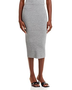 Leo Fitted Midi Skirt