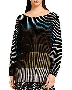 Marina Rinaldi - Alba Ombré Striped Sweater