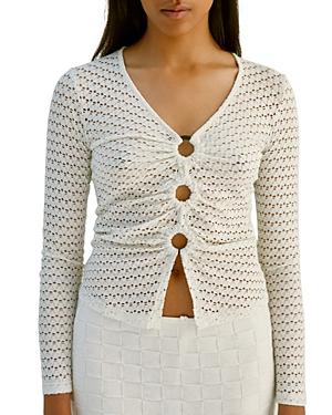 Musier Crochet Ring Front Top