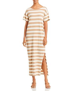 Amo Striped Midi Tee Dress