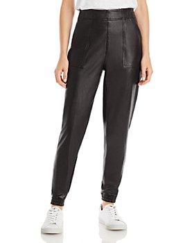 SPANX® - Faux Leather Jogger Pants
