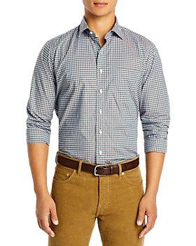 Sid Mashburn - Cotton Check Button Down Shirt