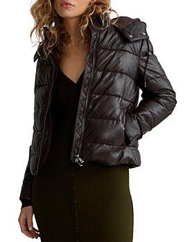 Ralph Lauren - Polos Belmont Leather Puffer Jacket