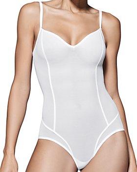 ITEM m6 - m6 All Mesh Shape Thong Bodysuit