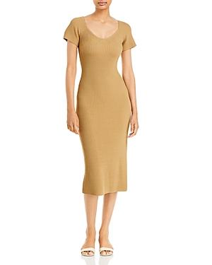 Melissa Ribbed Knit Midi Dress