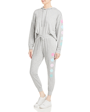 Cropped Smiley Hoodie Set (49% off)