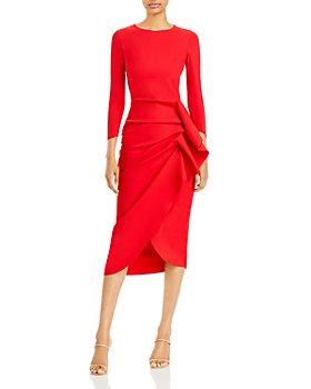 Chiara Boni La Petite Robe - Side Draped Cocktail Dress