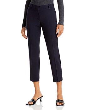 Theory - Treeca Wool-Blend Cropped Pants