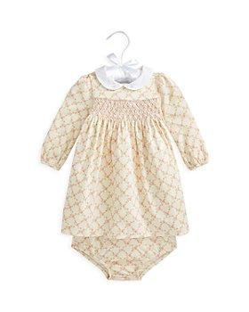 Ralph Lauren - Girls' Cotton Floral Print Dress - Baby