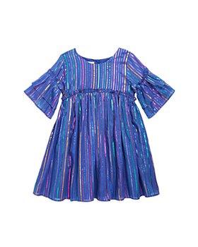 Pippa & Julie - Girls' Multi Stripe Dress - Little Kid