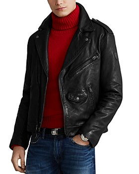 Polo Ralph Lauren - The Iconic Leather Motorcycle Jacket