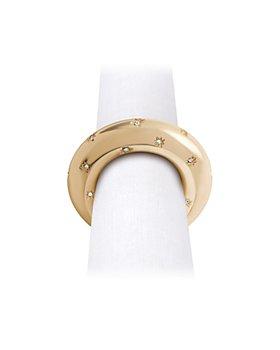 L'Objet - Star Jewel Napkin Rings, Set of 4