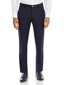 BOSS Hugo Boss - Genius Flannel Slim Fit Suit Pants