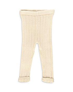Tun Tun - Unisex Cotton Ribbed Knit Leggings - Baby