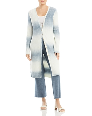Space Dyed Maxi Cardigan