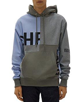 Helmut Lang - Patchwork Split Logo Hoodie