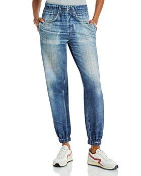 rag & bone - Miramar Cotton Denim Jogger Pants in Lucas Wash