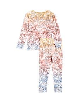 PJ Salvage - Unisex Gradient Dots Pajama Set - Little Kid, Big Kid