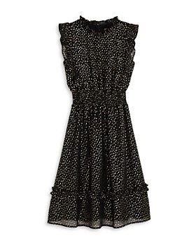 AQUA - Girls' Foil Speckle Dress, Big Kid - 100% Exclusive