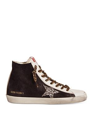 Golden Goose Women's Francy Star High Top Sneakers