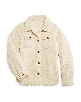 AQUA - Girls' Sherpa Jacket, Big Kid - 100% Exclusive