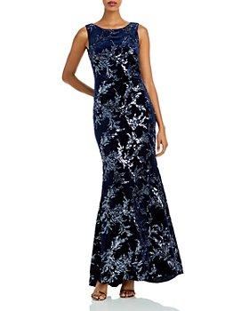 Eliza J - Sleeveless Sequin Gown