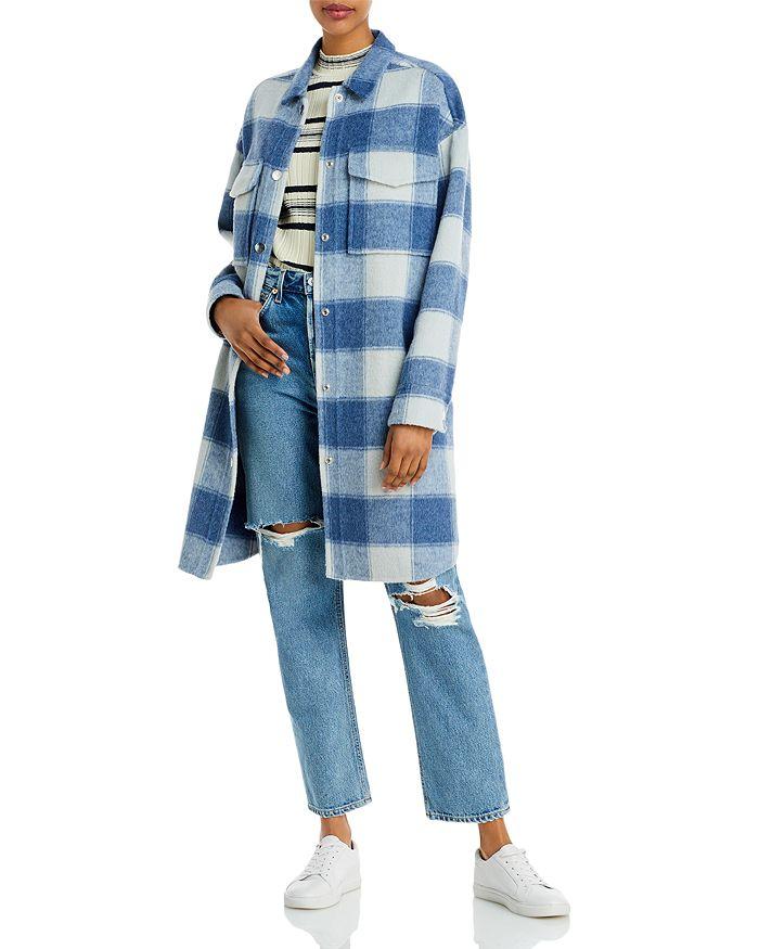 Rails - Jaro Wool Blend Plaid Coat