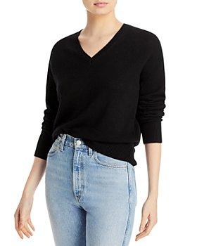 Theory - V Neck Cashmere Sweater