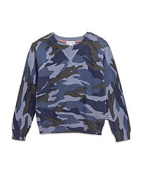 Splendid - Boys' Camo Print Sweater - Little Kid