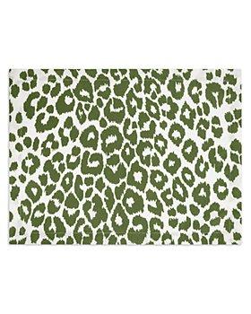 Matouk - Iconic Leopard Placemats, Set of 4