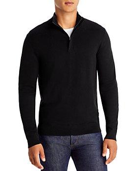 BOSS - Quarter Zip Sweater