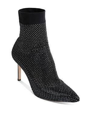 Women's Dierdra Pointed Toe Embellished High Heel Booties
