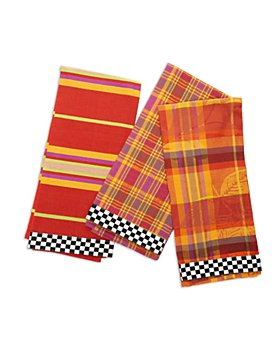 Mackenzie-Childs - Falling Leaves Dish Towels, Set of 3